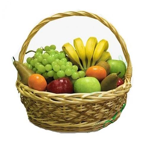 Купить на заказ Заказать Корзина с фруктами 4 с доставкой по Алматы с доставкой в Алматы