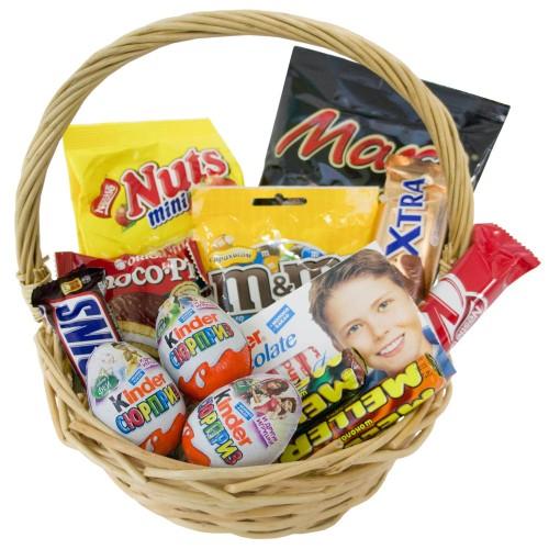 Купить на заказ Заказать Корзина сладостей 2 с доставкой по Алматы с доставкой в Алматы