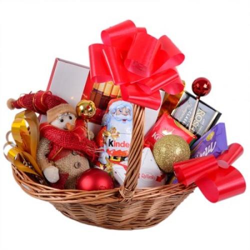 Купить на заказ Заказать Корзина с подарками с доставкой по Алматы с доставкой в Алматы