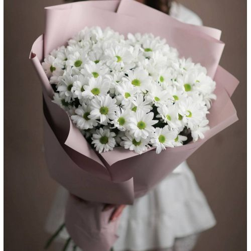 Купить на заказ Заказать 11 хризантем с доставкой по Алматы с доставкой в Алматы