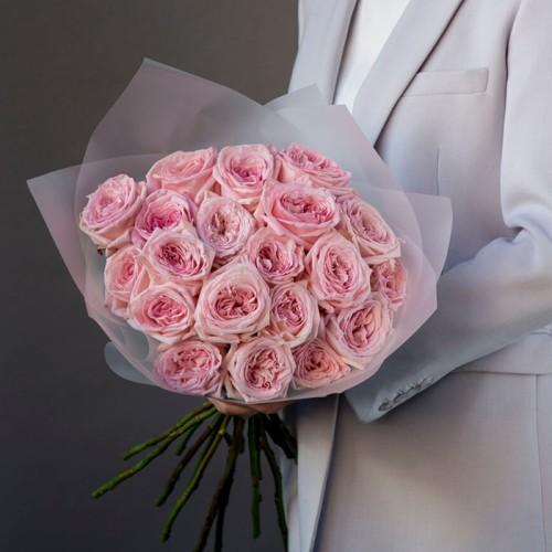 Купить на заказ Заказать 21 пионовидные розы с доставкой по Алматы с доставкой в Алматы