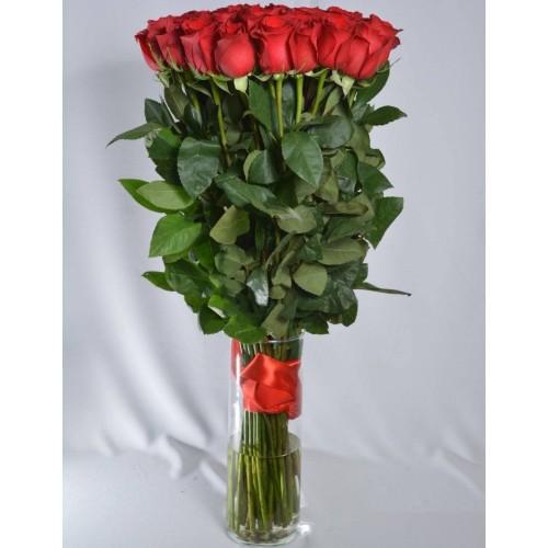 Купить на заказ Заказать 51 метровая роза с доставкой по Алматы с доставкой в Алматы