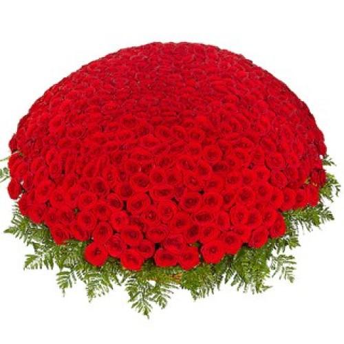 Купить на заказ Заказать 301  роза с доставкой по Алматы с доставкой в Алматы