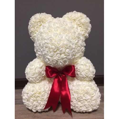 Купить на заказ Заказать Белый мишка с доставкой по Алматы с доставкой в Алматы