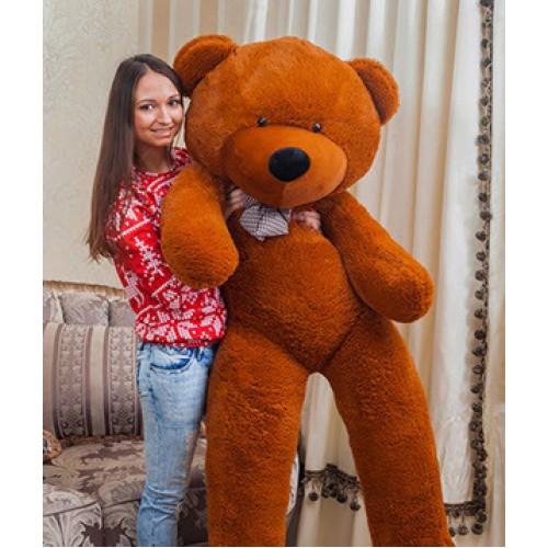 Купить на заказ Заказать Плюшевый мишка 180 см с доставкой по Алматы с доставкой в Алматы
