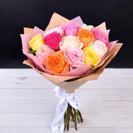 Свежие розы в Алматы