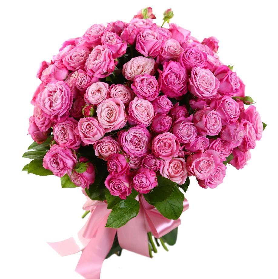 Купить пионовидные розы в Алматы